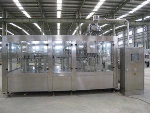 18000B/H冲瓶灌装旋盖三合一机组